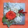 クリスマス風の壁飾り